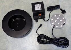 Komplekt postavki generatora tumana 12 diskov