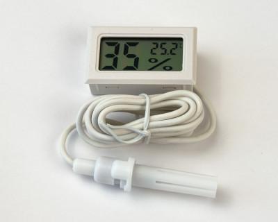 Цифровой гигрометр термометр с выносным датчиком