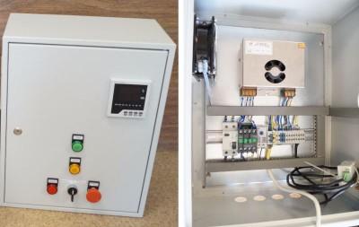 шкаф автоматики по управлению влажностью и температурой