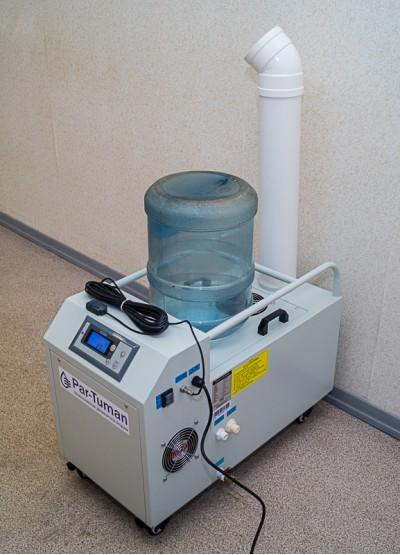 Увлажнитель воздуха с бутылью