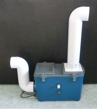 Труба установленная на увлажнителе воздуха