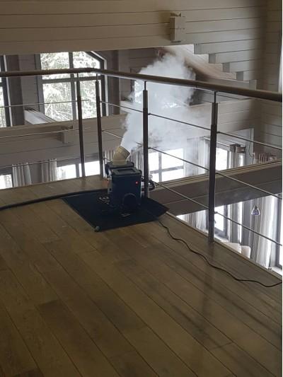 Увлажнитель воздуха в деревянном доме