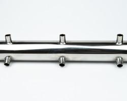 труба с соплом для витрины