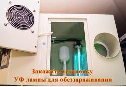 Ультрафиолетовая лампа для обеззараживания